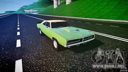 Dodge Charger RT 1969 tun v1.1 para GTA 4