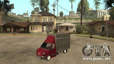 Volkswagen Crafter Case Closed para GTA San Andreas