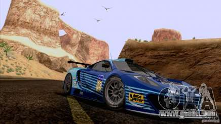 Pintura trabajos McLaren MP4-12 c Speedhunters para GTA San Andreas