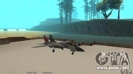 F14W Super Weirdest Tomcat Skin 2 para GTA San Andreas