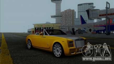 Rolls Royce Phantom Series II Drophead Coupe 12 para GTA San Andreas