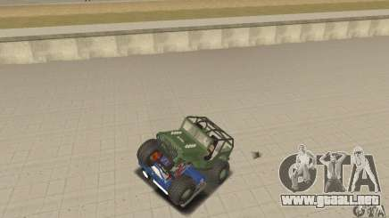 Jeep Willys Rock Crawler para GTA San Andreas