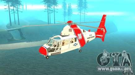 Guardacostas de Estados Unidos AS-365N para GTA San Andreas