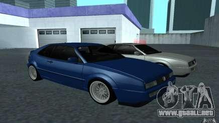 Volkswagen Corrado turquesa para GTA San Andreas