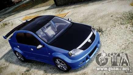 Dacia Logan 2008 [Tuned] para GTA 4