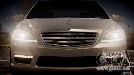 Mercedes-Benz S65 AMG 2012 v2.0 para GTA 4