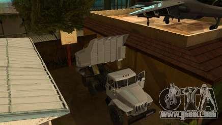 Camión Ural 55571 para GTA San Andreas