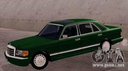 Mercedes-Benz 500SEL para GTA San Andreas