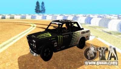 Datsun 510 Monster Energy para GTA San Andreas
