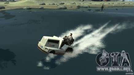 Airtug boat para GTA 4