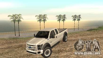 Ford Super Duty F-550 para GTA San Andreas