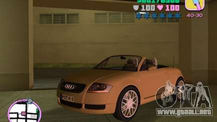 Audi TT ROADSTER para GTA Vice City