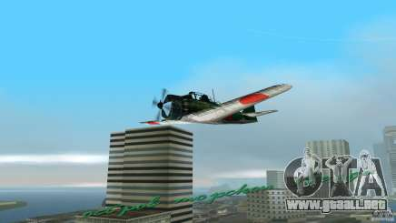 Zero Fighter Plane para GTA Vice City