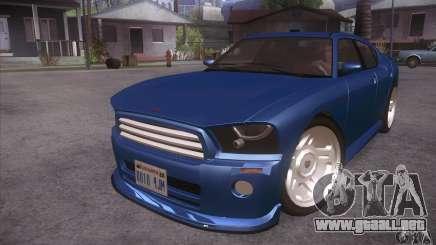GTA IV Buffalo para GTA San Andreas