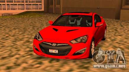 Hyundai Genesis Coupé 3.8 Track v1.0 para GTA San Andreas