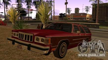 Mercury Grand Marquis Colony Park para GTA San Andreas