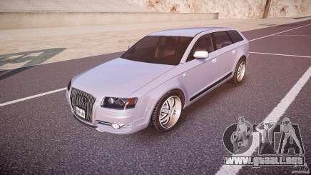 Audi A6 Allroad Quattro 2007 wheel 1 para GTA 4