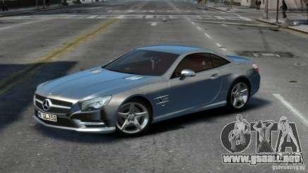 Mercedes-Benz SL 350 2013 v1.0 para GTA 4