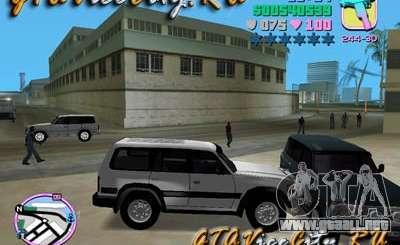 Toyota LAND CRUISER 80 para GTA Vice City