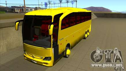 Mercedes-Benz Travego жёлтый para GTA San Andreas
