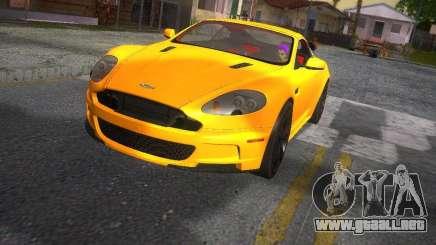 Aston Martin DBS para GTA San Andreas