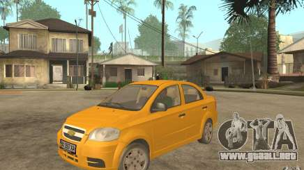 Chevrolet Aveo 2007 final para GTA San Andreas
