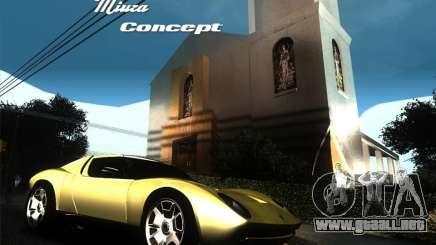 Lamborghini Miura Concept para GTA San Andreas