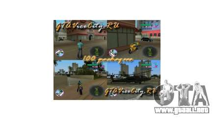 100 paquetes ocultos de GTA Vice City para GTA Vice City