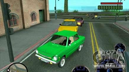 ZAZ: 968 m para GTA San Andreas