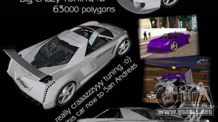 Cadillac Cien The SHARK DREAM Tuning para GTA San Andreas