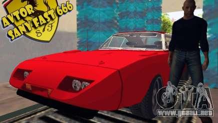 Dodge cargador Daytona Stissimotori 6 para GTA San Andreas