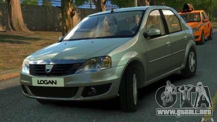 Dacia Logan 2008 para GTA 4