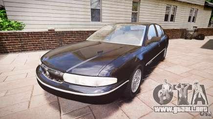 Chrysler New Yorker LHS 1994 para GTA 4