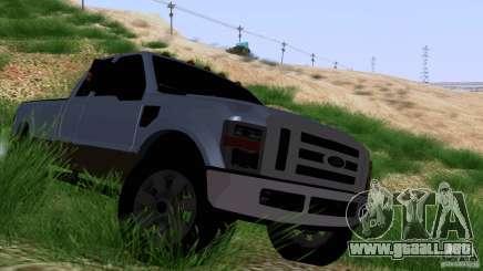 Ford F350 Super Dute para GTA San Andreas