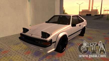 Toyota Celica Supra 2JZ-GTE 1984 para GTA San Andreas