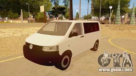Volkswagen Transporter T5 Facelift 2011 para GTA San Andreas
