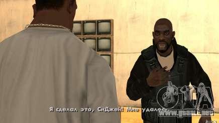 Nuevo humo para GTA San Andreas
