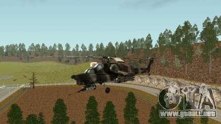 MI 28 HAVOC para GTA San Andreas