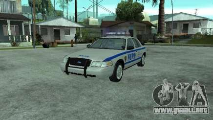 Ford Crown Victoria NYPD para GTA San Andreas