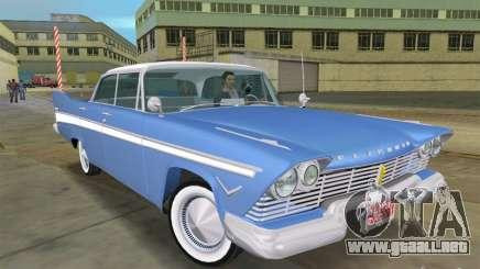 Plymouth Belvedere 1957 sport sedan para GTA Vice City
