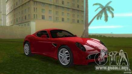 Alfa Romeo 8C para GTA Vice City