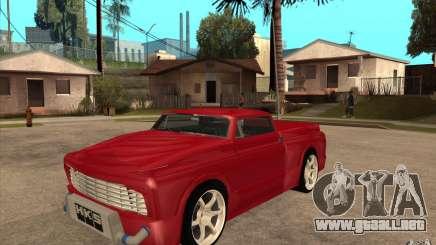 Slamvan Custom para GTA San Andreas