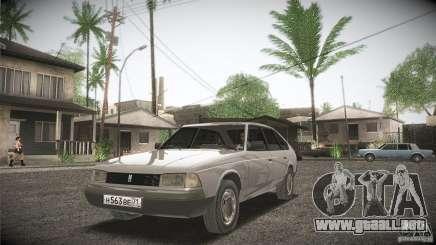 Moskvich 2141 Svyatogor para GTA San Andreas