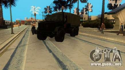 ZIL 4334 mayor permeabilidad para GTA San Andreas