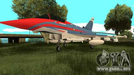Eurofighter Typhoon para GTA San Andreas