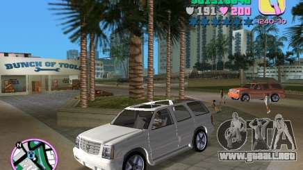 Cadillac Escalade para GTA Vice City