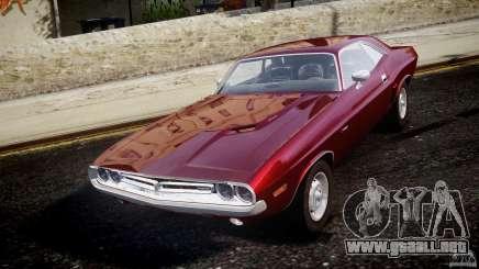 Dodge Challenger 1971 para GTA 4