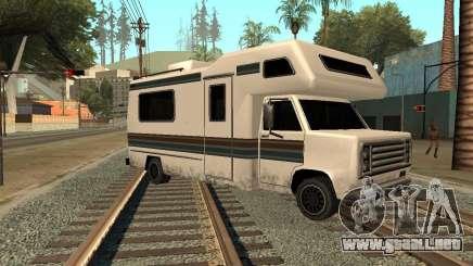 Casa sobre ruedas para GTA San Andreas