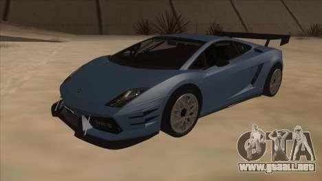 Lamborghini Gallardo LP560-4 Tuned para GTA San Andreas