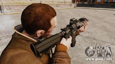 V3 M4 Tactical para GTA 4 segundos de pantalla